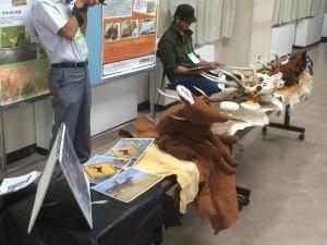 酪農学園大学の展示ブース