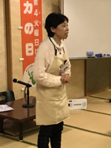櫻井さんによる笑いヨガ